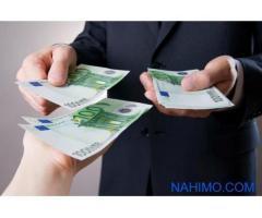offerta di prestito tra particolare e di finanziamento