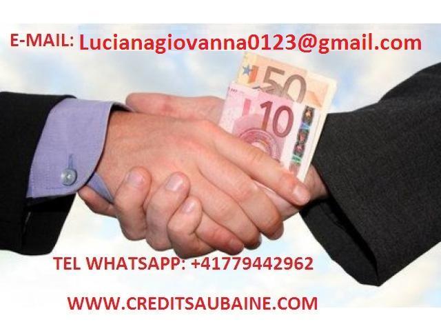 offerte di prestito di denaro e della finanza.