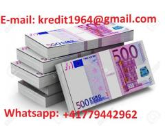 SOLUZIONE DEI PROBLEMI FINANZIARI (3.000 € a 900.000 €) : Whatsapp: +41779442962