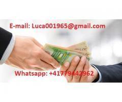 FINANZIARIA Whatsapp: +41779442962