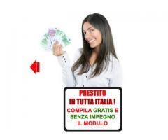 Offerta di prestito denaro tra privato gratuito urgente