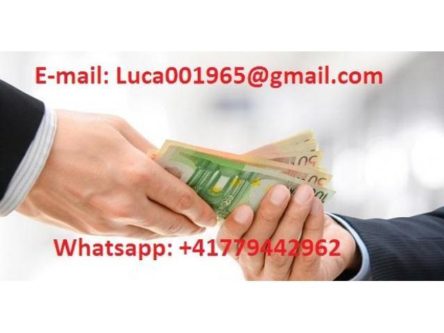 AIUTO FINANZIARIO. luca001965@gmail.com