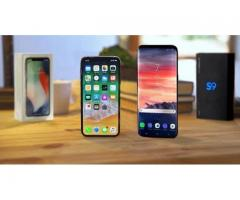 Samsung S9 €430 Euro S9 Plus Note 8 €350euro Apple iPhone X