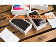 Apple iPhone X 64GB €400 ,iPhone X 256GB €450,iPhone 8 64GB €350,Samsung Galaxy S9/S9+ 64GB €400