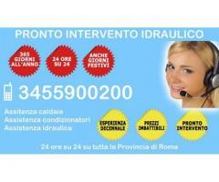 Pronto Intervento Idraulico Cinecittà - 345.5900200
